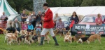 Parading at Malham Show 2014