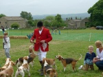 Hounds on Parade at Askwith Show 2015