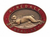 Airedale Badge